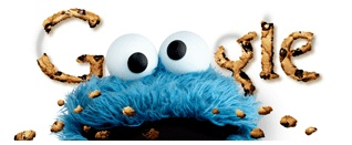 Cookie monster Google doodle