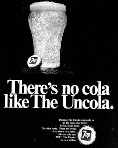 7up Uncola Advertisement