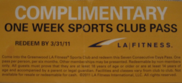 does la fitness have a free trial