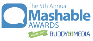Copy of Mashable's own awards logo