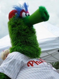 Photo of the Phillie Phanatic