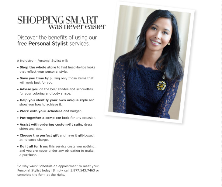 Nordstrom Personal Shopper ad