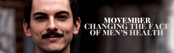 Movember photo: Changing the face of men's health