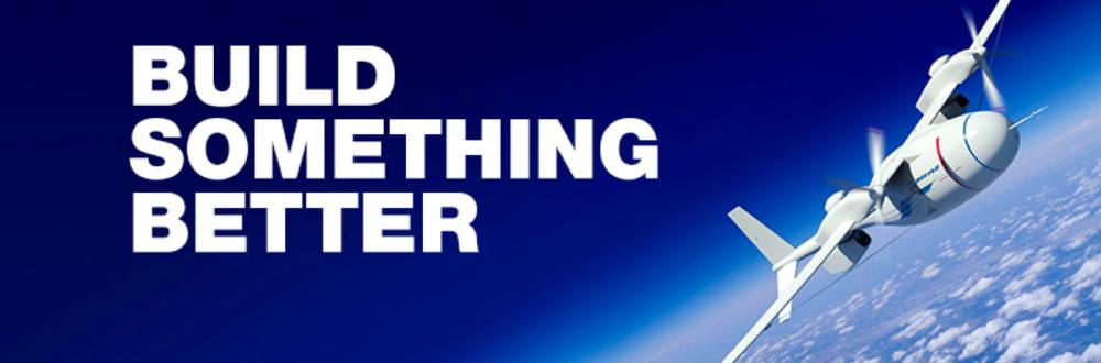 Boeing Build Something Better photo w/ airlplane